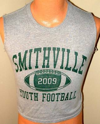 Team gear Smithville youth Football T shirt screened grey yth med b89be3d7c