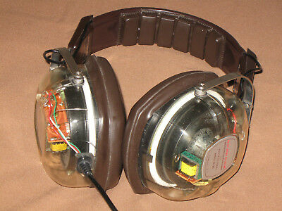 1973 VINTAGE Stereophones SUPEREX Professional Pro-B VI Yonkers N.Y. USA *MINT*