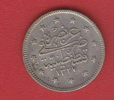 World Coin Ottoman Turkey Silver