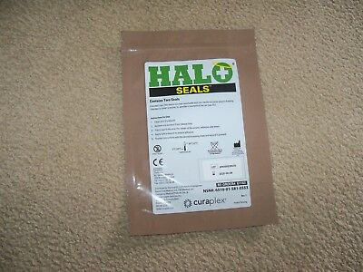 Halo Chest Seals Wound Seal 1 Pk. ( 2 Per Package)   Exp Date 6/8/2020  Fresh