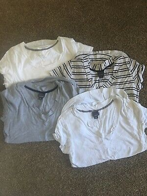 maternity tee shirt lot Xl