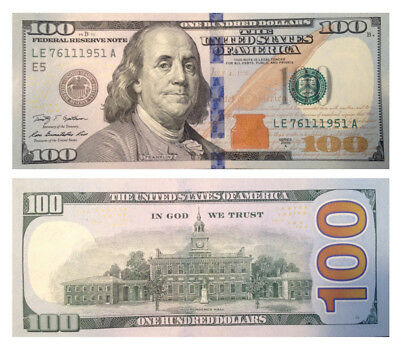 $100 Bill (One Hundred Dollar Bill) - Lightly Circulated To Uncirculated