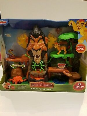 Lion Guard The rise of scar play set.