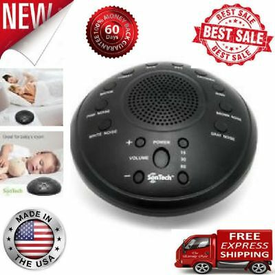 black Noise 10 Relax Sounds Sleep Sound Machine Therapy Night Sleeping Aid Timer