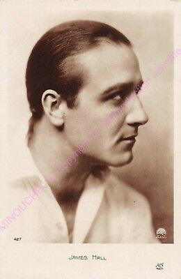 CPSM RPPC STAR JAMES HALL PHOTO PARAMOUNT Edt AN427