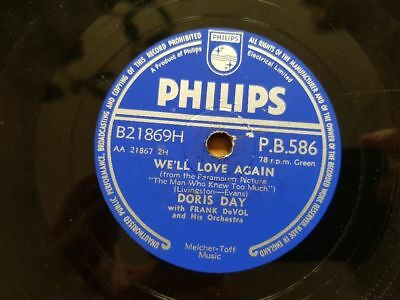 Doris Day - Que sera sera/ Whatever will be Schellack 78 rpm