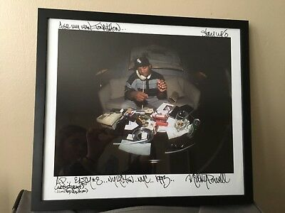 Ricky Powell framed and signed photograph of Eazy E