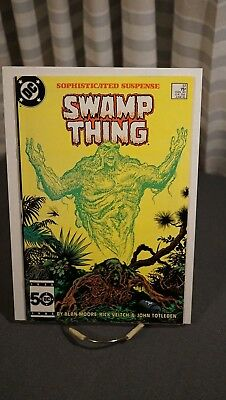 Swamp Thing #37 - Alan Moore - Classic Storyline!
