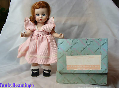 Vintage MADAME ALEXANDER ALEXANDER-KINS DOLL IN BOX ~ AUBURN HAIR