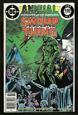 Swamp Thing 49 50 & Annual 2 (Reg. & Canadian Newsstand) 1st Justice League Dark