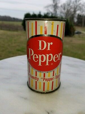 Rare, Early, Vintage, Dr. Pepper can