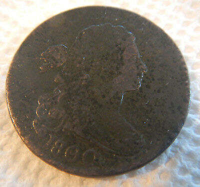 1800 80 over 79 United States Large Cent
