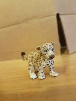 Schleich Germany ~ Spotted  Leopard Cub Figure am limes 69