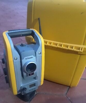 "Trimble S6 3"" DR PLUS  one man full robotic kit with case one battery"