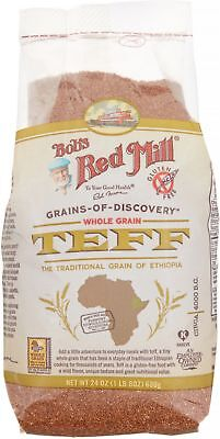 Bob's Red Mill Whole Grain Teff 24 oz (Pack of 5)