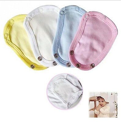 NEW Baby Lengthen Film Diaper Outfits Bodysuit Jumpsuit Extend Soft UtilityLD