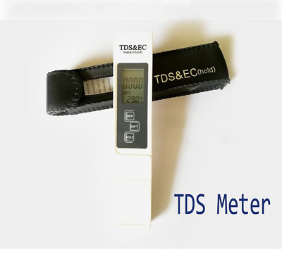 Water Purity Check Digital Meter TDS Pen/PH Monitor Test Strips Chemical Use