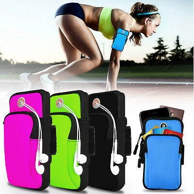 Sport Running Armband Arm Bag Pouch For iPhone X/6/6S/7/8/Galaxy S9+/S8 Plus/S7