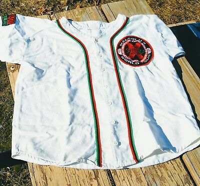 Vintage Spike Lee 40 Acres And A Mule Spikes Joint Baseball Jersey distressed XL