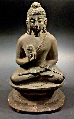 Antique Bronze Buddha Figure - Thailand - 19th Century or earlier