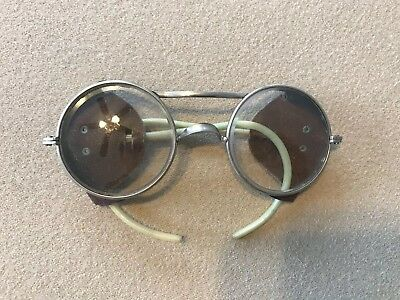Vintage Steam Punk Motorcycle Glasses