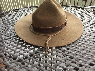 Vintage Boy Scout Hat The Scout Pure Wool Original Scouts