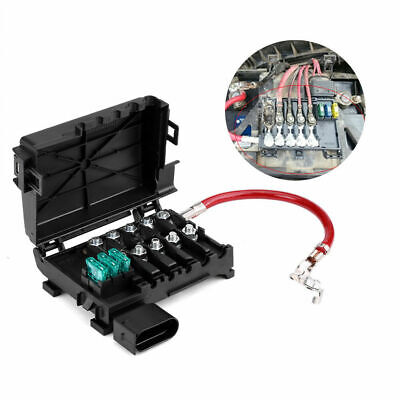 OEM 1J0937550A Battery Fuse Box Holder Terminal for fuse box battery terminal for vw jetta golf mk4 beetle 2 0 1 9tdi