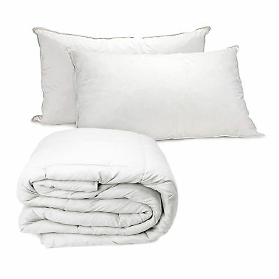 Royal Comfort Value Combo Goose Summer Quilt + Twin Pillow Single Bed