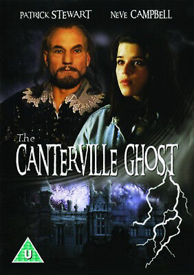 THE CANTERVILLE GHOST DVD Patrick Stewart Neve Campbell UK Release New Sealed R2
