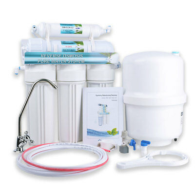 Global Water RO5 System 75 GPD Water Filter – 5-Stage Reverse Osmosis 75 GPD