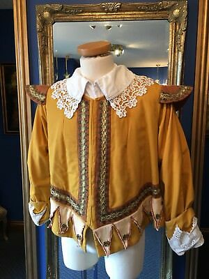Stunning Men's Theatrical Jacobean Style Doublet, Really Good Detailing,Top Item