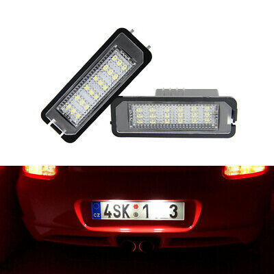 For Porsche Boxster Cayman Carrera Cayenne 987 997 958 Led License Plate Lights