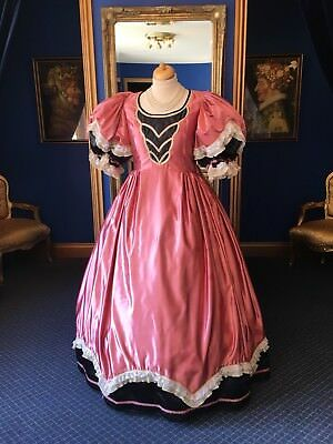 Stunning Theatrical Victorian Style Ball Gown, Great Detailing, Beautiful Item!!