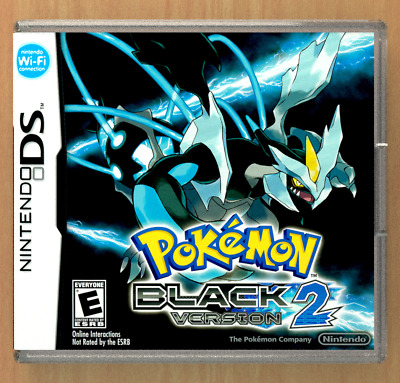 Pokemon Black Version 2 DS Replacement CASE (*NO GAME*)