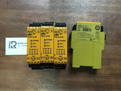 Pilz Safety Relay PNOZ X2.8P 24VACDC