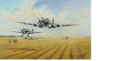 Robert Taylor - St. Croix Sur Mer - Aviation Art Signed Ace Sold Out