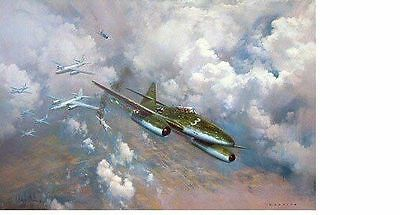 Frank Wootton - The Last Combat - Me262s