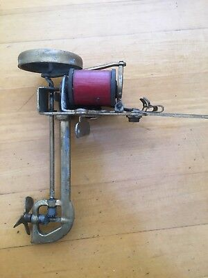 Antique LePage Motor Toy Bi Polar DC Electric Outboard Motor, W/ Box