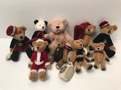 MINIATURE BEARS BOYDS and one COTTAGE COLLECTIBLES lot of nine tags EUC
