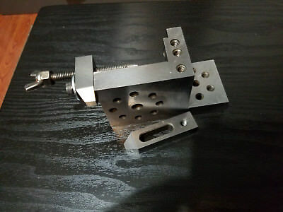 ToolMaker compound angle plate hardened with clamps/stops.