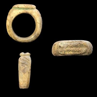 Very Rare Ancient Egyptian Ring 300 Bc (1)