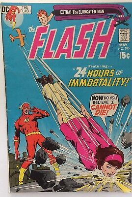 The Flash #206 Dc (May 1971) Fine Cents Copy
