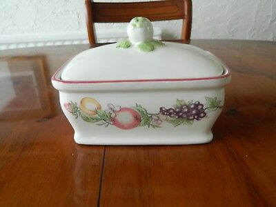 Boots 'orchard'  Lidded Butter Dish