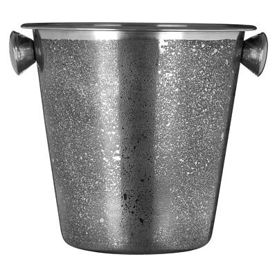 Champagne Wine Ice Bucket Stainless Steel Drink Cooler with Handles