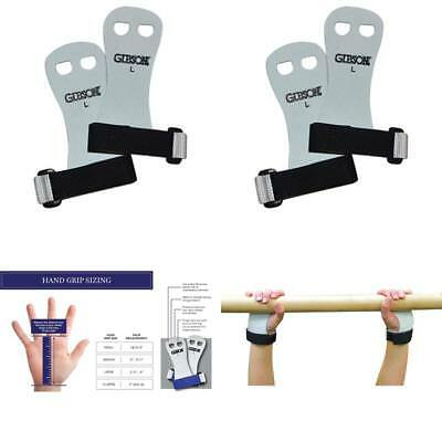 Gibson Rainbow Gymnastics Hand Grips, Great for Crossfit Workouts, MADE IN USA