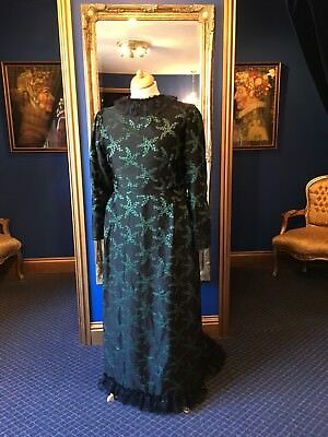 Stunning Theatrical Edwardian Style Day Dress, Fantastic Detailing.!!