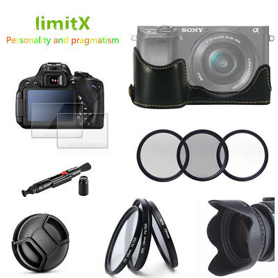 Accessories Bundle for Sony Alpha A6300 A6000 with 16-50mm lens camera ONLY