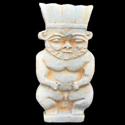 BEAUTIFUL ANCIENT EGYPTIAN AMULET OF THE GOD BES Late Period Circa 664 - 332 BC