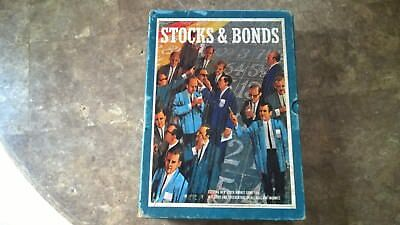 Stocks & Bonds vintage bookshelf/board game-1964 3M Games