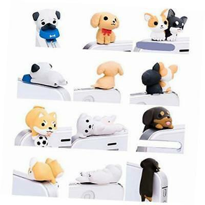 little puppy 3.5mm dust plug 6 pcs of jack earphone cap for iphone 6, iphone